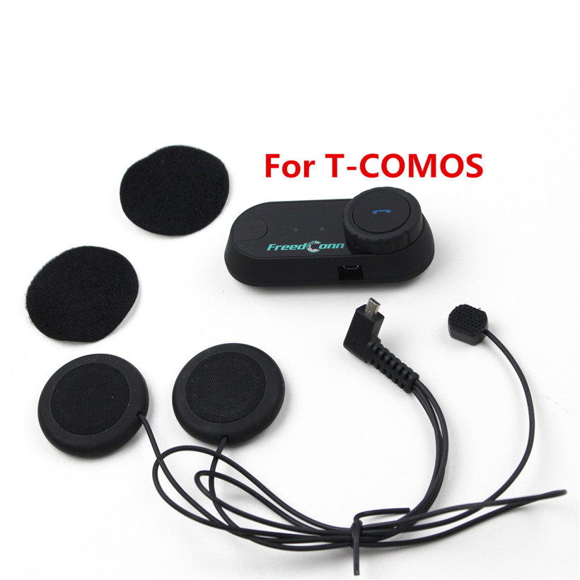 2 stücke Helme Inetercom Weiche Kopfhörer Mic Ohrhörer Zubehör für TCOM-SC/T-COMVB/FDCVB/Farbe Moto Bluetooth Helm intercom