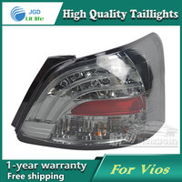 Car Styling Tail Lamp For Toyota Vios Taillights Tail Lights LED Rear Lamp LED DRL Brake