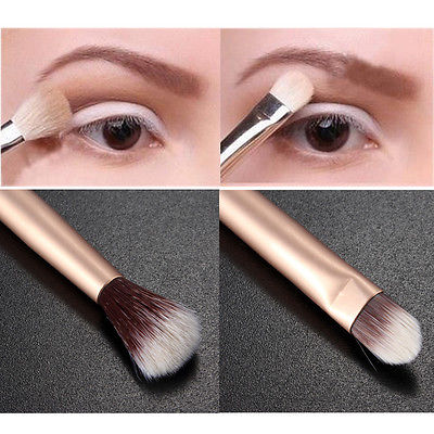Beauty Makeup Eye Powder Foundation Eyeshadow Blending Double Ended Brush Pen mac beauty powder too chic украина