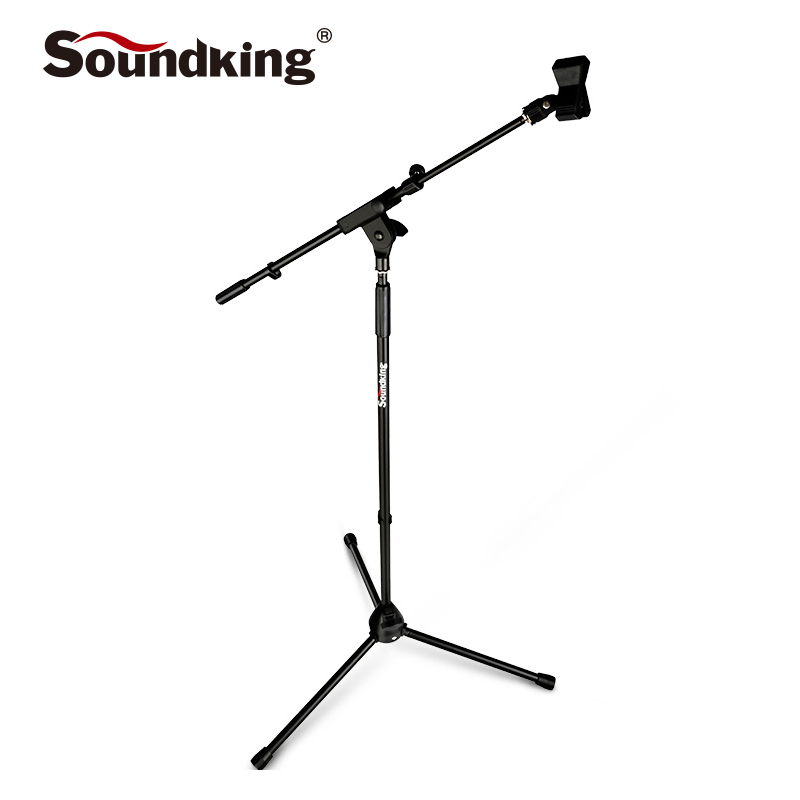 Soundking High Quality Flexible Stage Microphone Stand Tripod Floor Microphone Stand Liftable Radio microphone stand S24 стоимость