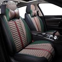 kokololee luxury Cloth car seat covers for alfa romeo 159 156 giulietta auto accessories Automobiles Seat Covers