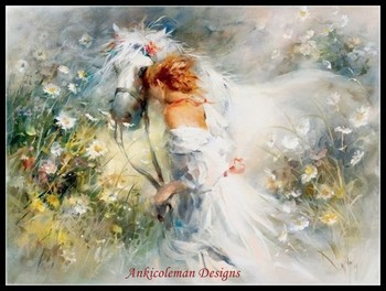 Needlework for embroidery DIY DMC High Quality - Counted Cross Stitch Kits 14 ct Oil painting - White Dream