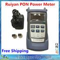 Free Shipping Perfect Quality Optical PON Power Meter RY-P100 With Large Screen Display Used in CCTV & FTTx / FTTH