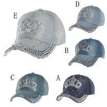 Baseball Cap Women Men 2018 New Summer Diamond Snapback Hat Hippie Hip-Hop  Adjustable Casual Flat Hat Fall Girl Wholesale  FM16 074f4057e598