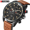 CURREN Sport Watch Mens Watches Top Brand Luxury Military Clock Quartz Watch Men Leather Casual Wrist Watch Relogio Masculino