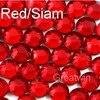 Hotfix DMC Red Siam Rhinestones Hot Fix Crystals Rhinestone Stones Iron-On Garment Glass Beads ss16 1440pcs