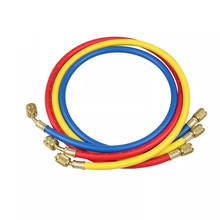 3pcs Refrigeration Charging Hoses R134a R22 404 502 1/4 SAE Female Manifold Gauge Set For Air Conditioner 240x240x50mm