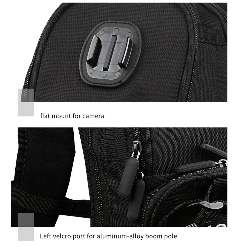 Image 4 - SHOOT Motorcycle Bicycle Selfie Backpack Men Camera Backpack Travel Bag Multifunctional Waterproof Backpack Cam Bag for GoPro 7-in Camera/Video Bags from Consumer Electronics