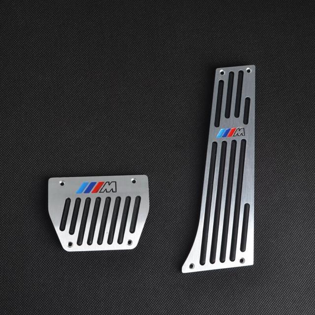 Colorful ///M 2PCS AT Aluminium 2PCS Foot Pedals / Pedal For BMW F30 F10 F20 E46 E90 E92 E60 E87 E63 F12 GT E84 E89 TYPE B
