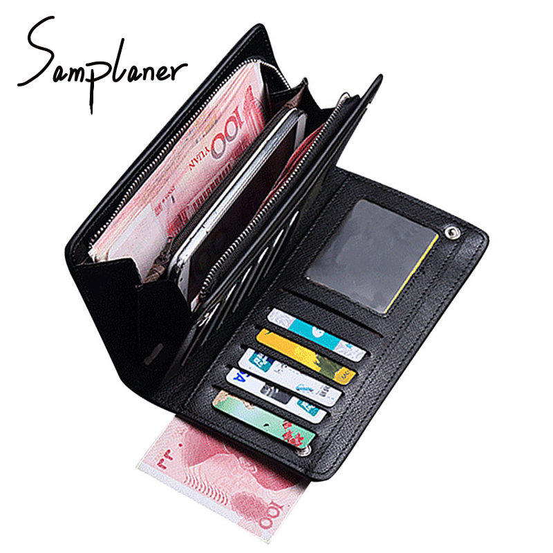 Business Long Wallets Clutches Men Wristle Clutch Bag Leather Brand Zipper Coin Purse Card Holder Man Wallets Carteira Masculina double zipper men clutch bags high quality pu leather wallet man new brand wallets male long wallets purses carteira masculina