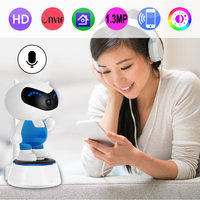 Intelligent Alarm Head Shaking Camera Support mobile phone APP for Baby monitoring and home safety protection Indoor Monitoring