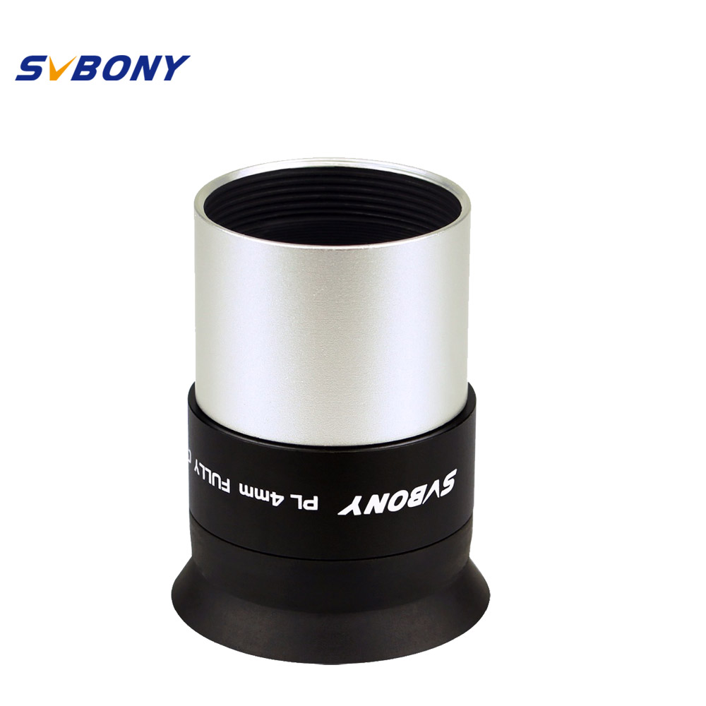 SVBONY 1.25 Eyepiece PLOSSL Astronomy Telescope Monocular Lens 4 HD Fully Coated for Binoculars Telescope 31.7mm F9124A