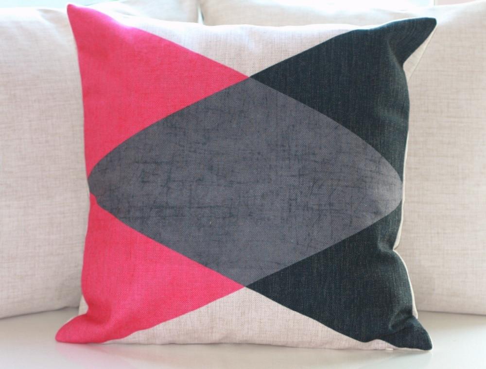 Ufficio Retro Wanita : №vintage cotone lino cuscino pillow case home decor geometrica del
