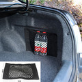 Car Trunk to receive store content bag storage network /Net Seat Storage Mesh Pocket Sticker Trunk Strong Magic Tape