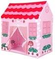 Azul Rosa Brinquedo Tenda Crianças Playhouse Tendas Ao Ar Livre Indoor Pit Bola de Presente de Aniversário para Meninos Das Meninas