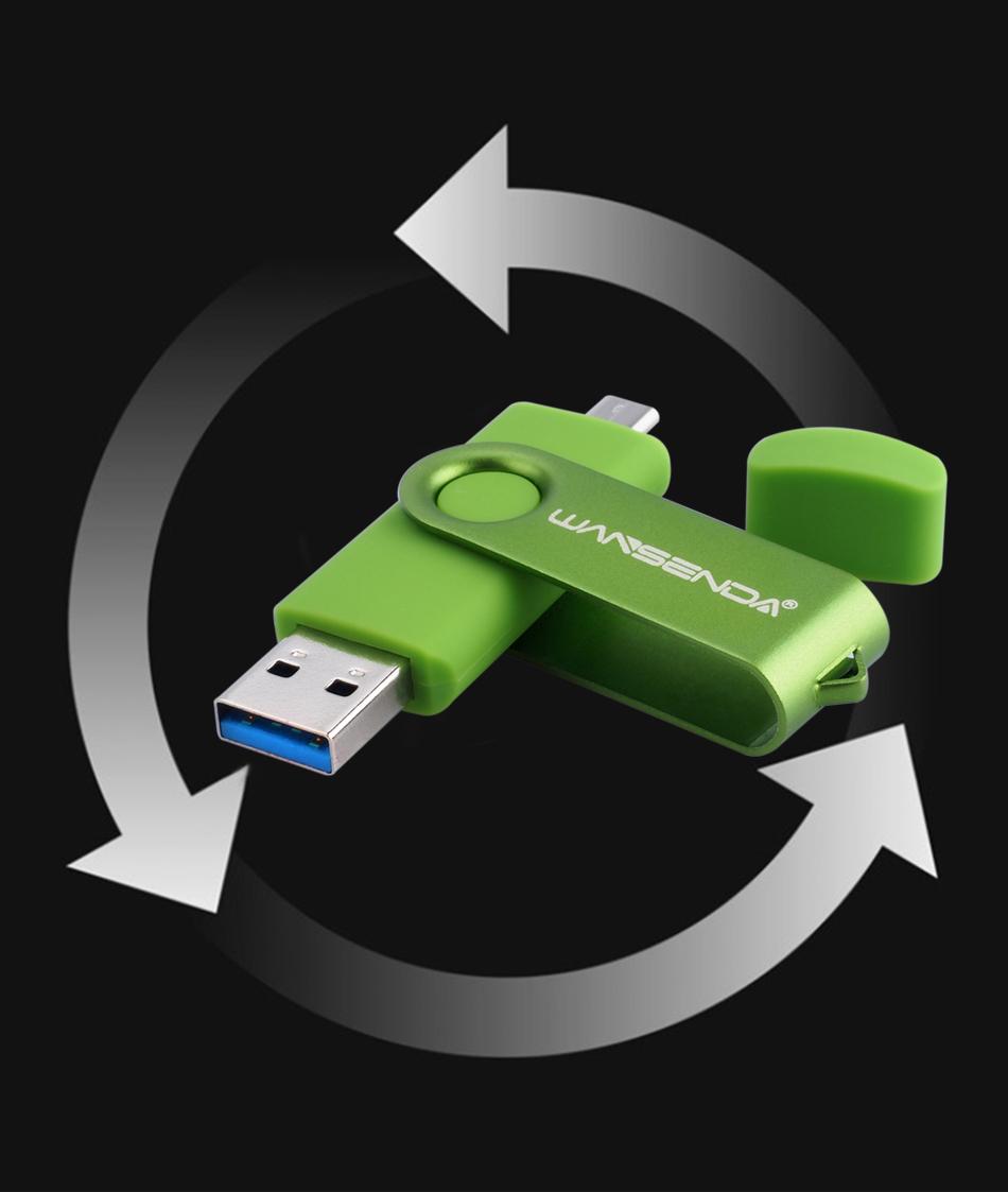 Pendrive OTG con puertos USB 3.0 y micro-USB 8