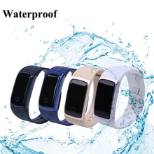 Waterproof A09 Bluetooth 4.0 OLED Smart Bracelet Band Heart Rate Wristband Sport Pedometer Fitness Tracker Watch for Android IOS