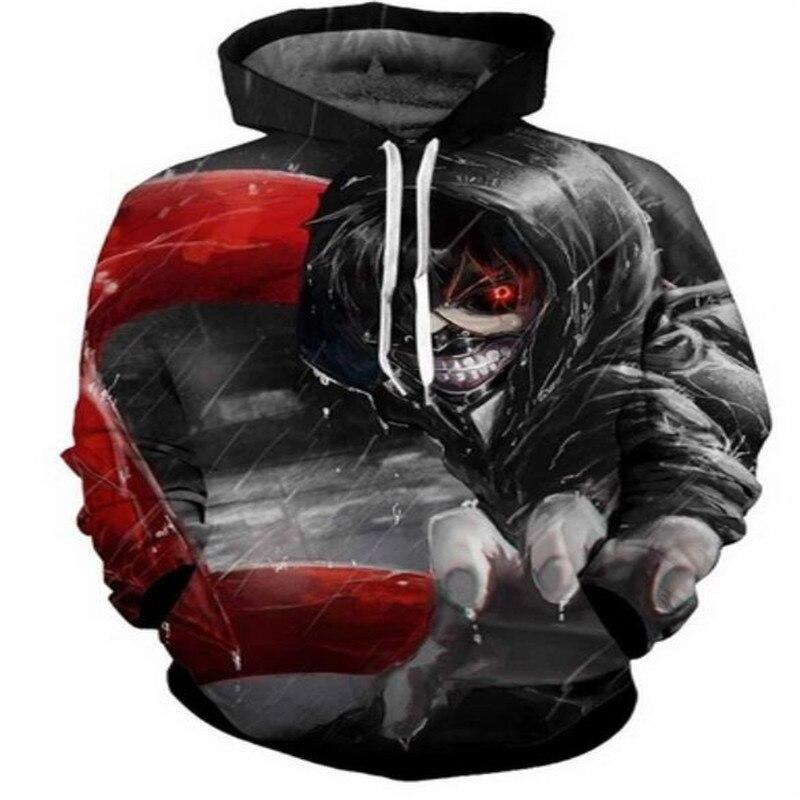 S-6XL Новый Дизайн Для мужчин Для женщин пуловеры кофты Прохладный 3D печати с капюшоном ...