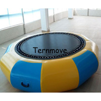 Giant Inflatable amusement park rides Jumping Inflatable Bungee jumper Jumping Trampoline Inflatable Water Bouncer