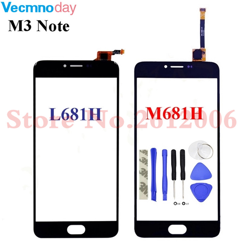 Vecmnoday Touchscreen Front Panel For Meizu M3 Note M681H L681H L681 M681 Touch Screen Sensor Digitizer Glass Replacement+ToolsVecmnoday Touchscreen Front Panel For Meizu M3 Note M681H L681H L681 M681 Touch Screen Sensor Digitizer Glass Replacement+Tools