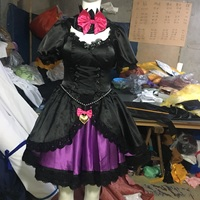 Game OW Cosplay Song Hanna DVA Cosplay Costumes Black Cat Costumes Lolita Dress for Girl Women Halloween Carnival Party