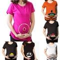 Roupas de gravidez Novo Engraçado t-shirt do Verão Camisa de Maternidade para as mulheres grávidas mais size3XL Premaman Camisas zwangerschaps kleding