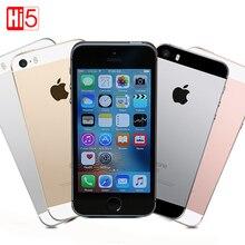 Original Apple iPhone SE Unlocked Mobile Phone LTE 2GB RAM 16/64GB ROM 4.0″ Chip A9 iOS 9.3 Dual core Fingerprint free shipping