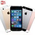 """Original apple iphone se desbloqueado telefone móvel lte 2 gb de ram 16/64 gb rom 4.0 """"Chip de A9 iOS 9.3 Dual core Impressão Digital frete grátis"""