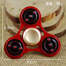 Naruto's sharingans hand spinners
