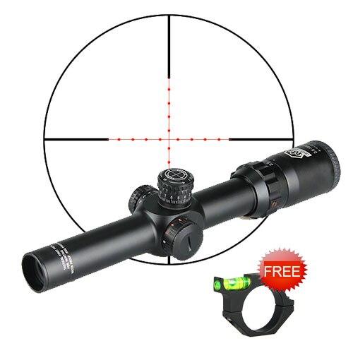 CANIS LATRANS FFP Riflesope 2.5-10X26 portée avec 20 MM/11 MM portée de montage réel OS1-0253 de chasse