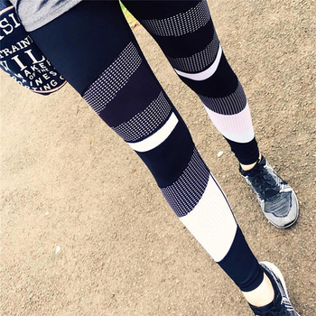 High Waist Leggings Sexy Leggins Sport Women Fitness Sport Legging Quick-drying Leggins Mesh Pattern Print Leggings Gym Leggins