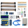 Nano BreadBoard Kit W IO Expansion Board Sensors LCD Display Module Tutorial For Arduino