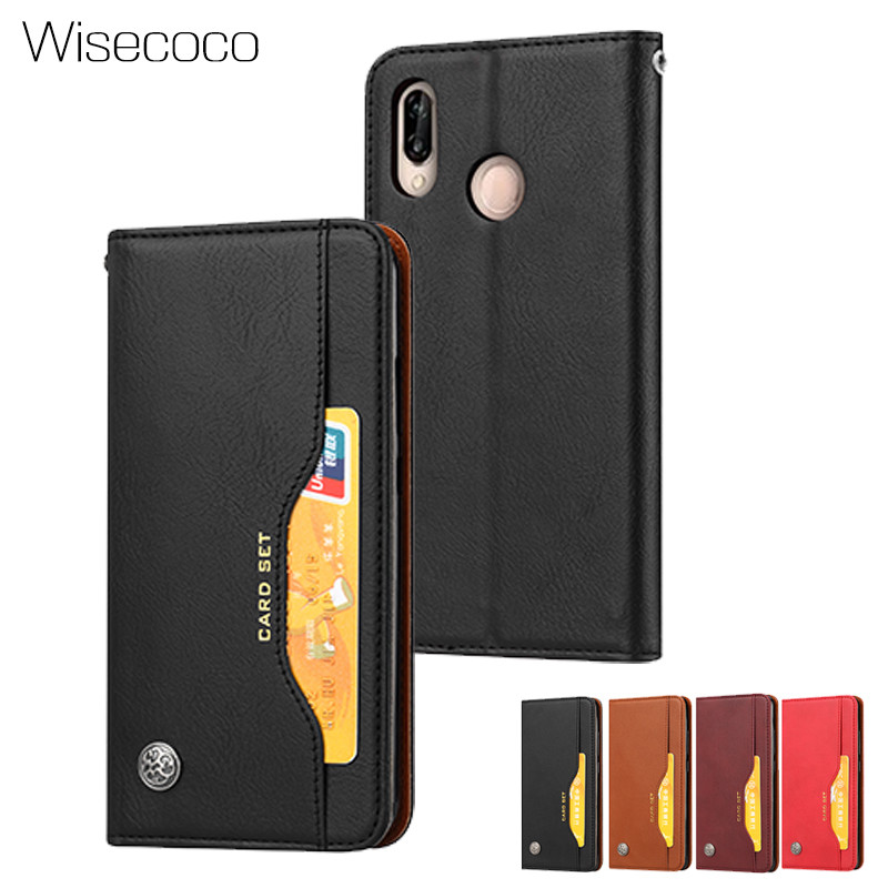 Luxury Wallet <font><b>8x</b></font> Flip Cover For Huawei <font><b>Honor</b></font> <font><b>8X</b></font> Retro Leather Card Holder Stand Protect Phone Cases for hawei honoe8x 128gb <font><b>4gb</b></font> image