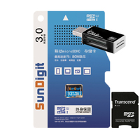 Brand New Real Capacity High Speed Transcend Micro Sd Card 32gb SDHC Class10 UHS I 300x