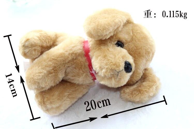 1pc 20cm funny Wolfdog Golden Retriever Chapu dog Husky schnauzer little plush doll novelty romantic birthday gift stuffed toy