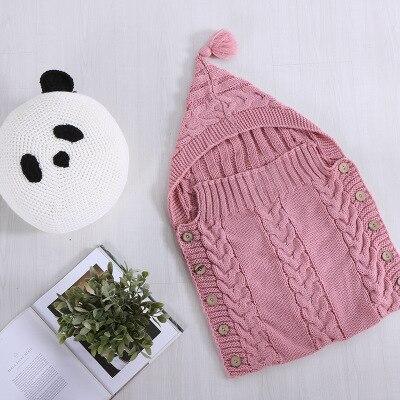0-3age Baby Child knit Blanket sleep bag hold throw acrylic beach travel bed home sofa Use wholesale FG816