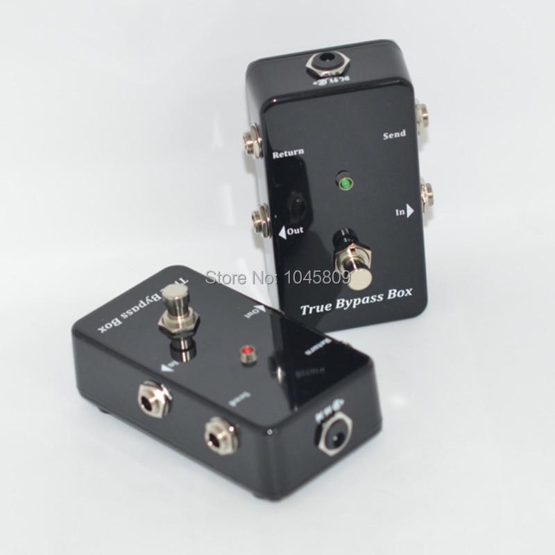 True-Bypass Looper Effect Pedal Guitar Effect Pedal Looper Switcher - მუსიკალური ინსტრუმენტები - ფოტო 3
