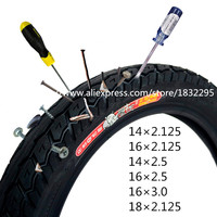 1PCS  CST electric bicycle tires 16x2.125/14x2.125/18*2.125 rhino Electric Bicycle tire bike tyre 16*3.0/22*2.125