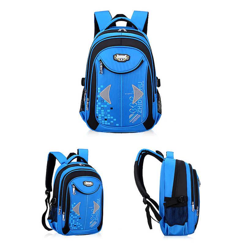 Niyobo обеспечивающие безопасность Светоотражающие детские школьные сумки с мультяшными изображениями и принтом куклы рюкзак из плотной ткани для маленьких девочек портфель для мальчика-подростка рюкзаки