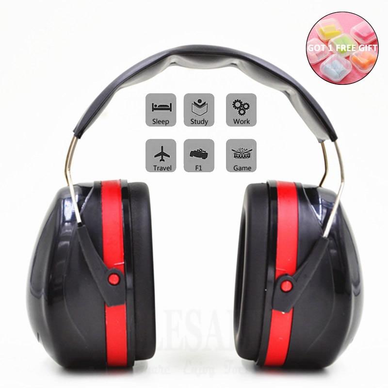 Foldable Head Earmuffs Anti-Noise…