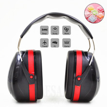 Foldable Head Earmuffs Anti Noise Ear Protector NRR 30dB For Work Study Sleeping Woodwork Shooting Hearing Protection Ear Safety