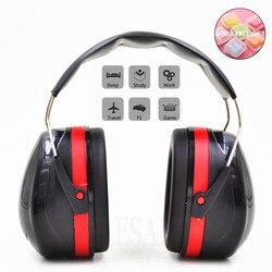 Orejeras de cabeza plegables Anti-ruido Protector de oreja nrrr 30dB para estudio de trabajo dormir Woodwork Shooting protección auditiva seguridad del oído