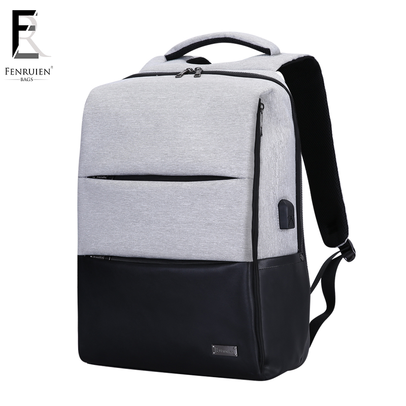FENRUIEN Multifunction Anti theft Backpack Men Usb Charging Waterproof Backpack Laptop Travel Business Casual Work Bag Mochila men s backpack anti theft usb charging travel backpack waterproof nylon unisex school bags for female laptop business backpack
