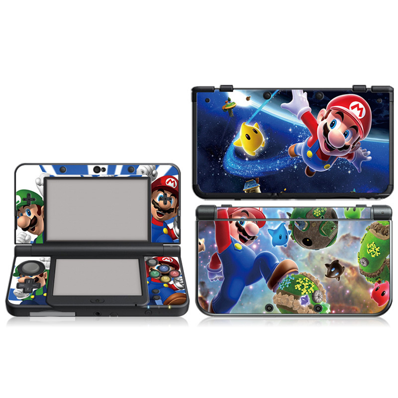Mario Vinyl Skin Sticker Protector For Nintendo For New 3DS Skins Stickers Vinyl Decal