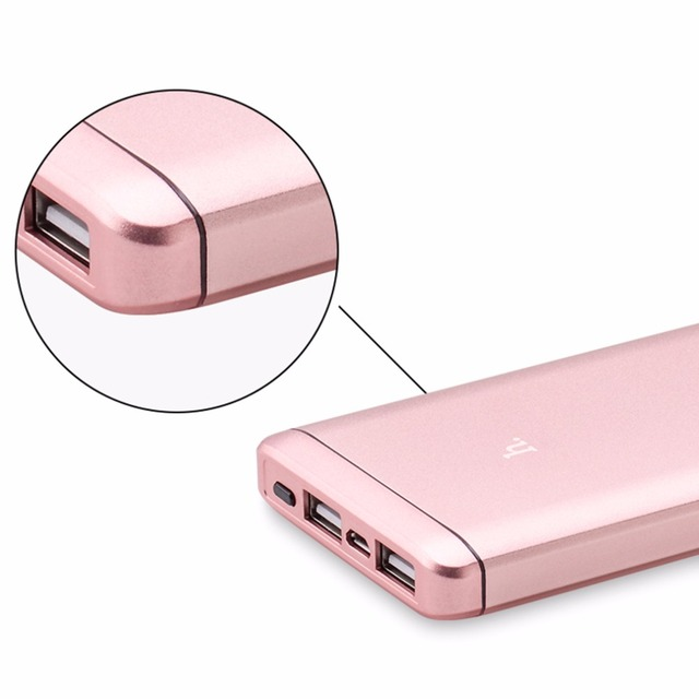 100% Original Power Bank HOCO Quick Charge 6000mAh Portable External Battery 4 Colors Available Suitable For Iphone Mobile Phone