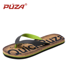PUZA Brand 2018 Summer Casual Men Sandals Comfortable Flip Flops Fashion Beach Slippers Shoes Slides Sapatos masculino