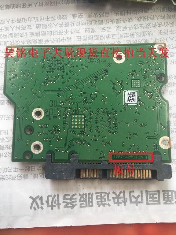 hard drive parts PCB logic board printed circuit board 100714259 for Seagate 3.5 SATA hdd SSHD data recovery hard drive repair