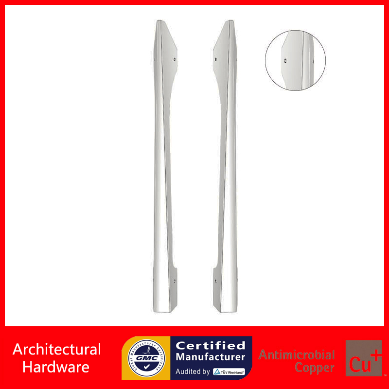 Fashionable Entrance Door Handle High Quality 304 Grade Stainless Steel Pull Handles PA-652-L780mm For Glass/Wooden/Metal Doors entrance door handle high quality stainless steel pull handles pa 121 38 500mm for glass wooden frame doors