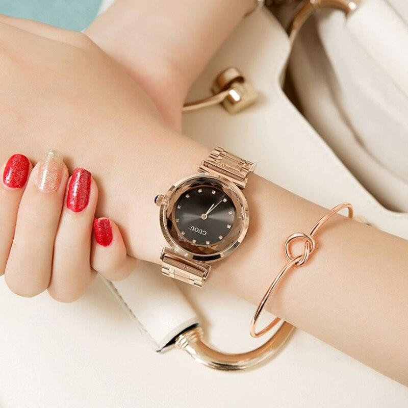 Montres femmes 2018 en acier inoxydable GUOU dames Montre femmes montres-bracelets bracelets pour Femme Montre Femme Auto calendrier horlogeMontres femmes 2018 en acier inoxydable GUOU dames Montre femmes montres-bracelets bracelets pour Femme Montre Femme Auto calendrier horloge