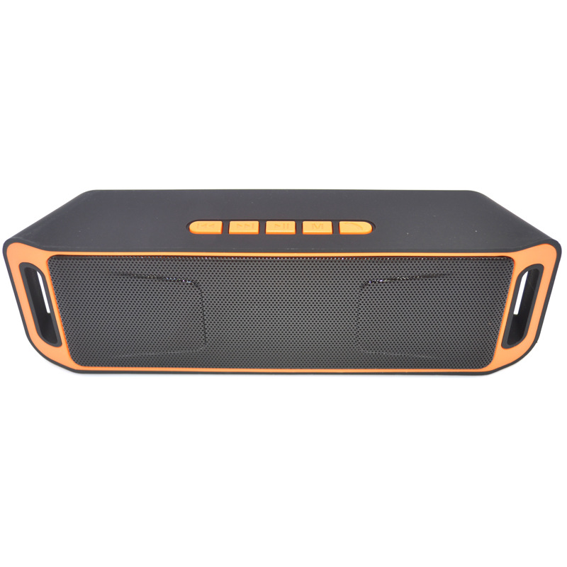 Multifunctional Portable Durable Wireless Bluetooth 4.0 Speaker TF USB FM Radio Dual Bass Sound Loudspeaker Accessories